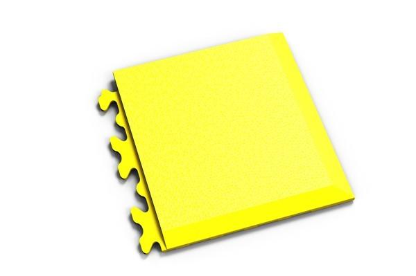 Fortelock Ecke 2039 Skin - genarbt - gelb - D