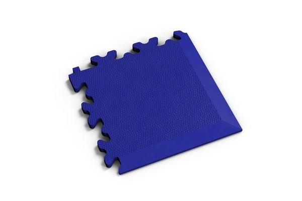 Fortelock Ecke 2026 Skin - Leder - Glatt - blau
