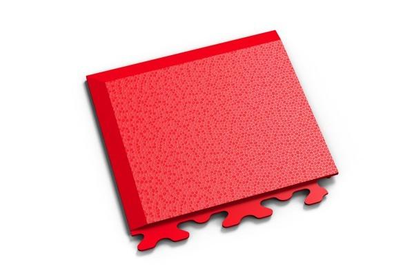 Fortelock Ecke 2036 Skin - genarbt - rosso rot - A