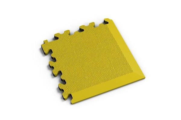Fortelock Ecke 2026 Skin - Leder - Glatt - gelb