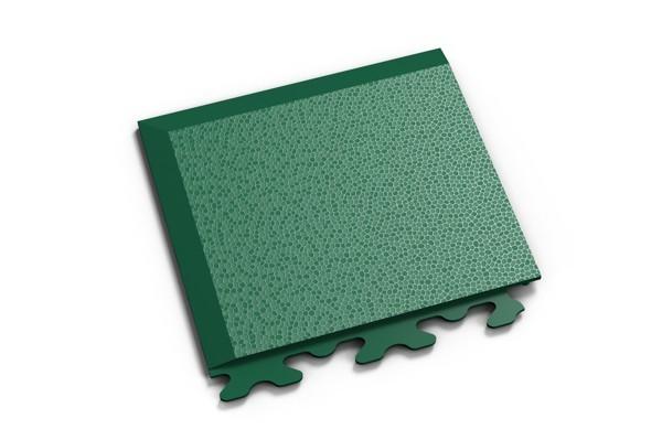 Fortelock Ecke 2036 Skin - genarbt - grün - A