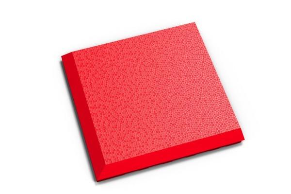 Fortelock Ecke 2038 Skin - genarbt - rosso rot - C
