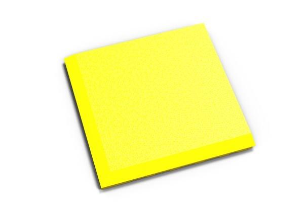 Fortelock Ecke 2038 Skin - genarbt - gelb - C