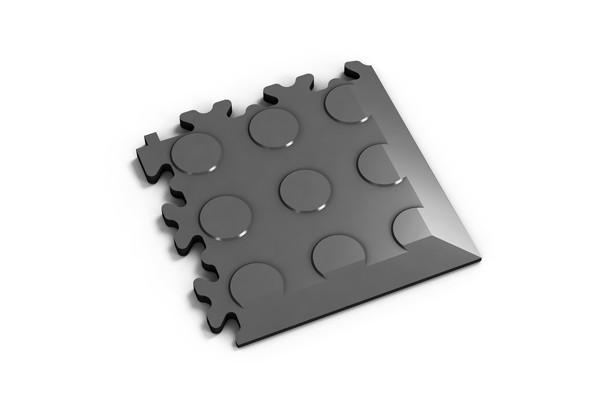 Fortelock Ecke 2046 Noppen - Coin - graphite