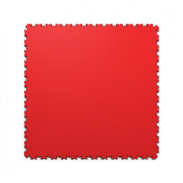 Fortelock XL 2230 Rosso Rot PVC Bodenfliese Maße: 653 x 653 mm