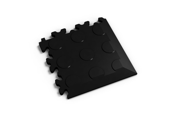 Fortelock Ecke 2040/2046 Noppen - Coin - schwarz