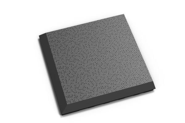 Fortelock Ecke 2038 Skin - genarbt - graphite - C
