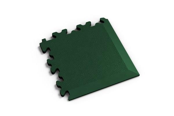 Fortelock Ecke 2026 Skin - Leder - Glatt - grün