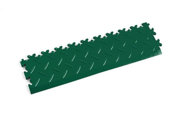 Fortelock Rampe 2015 Diamant - Riffelblech - grün