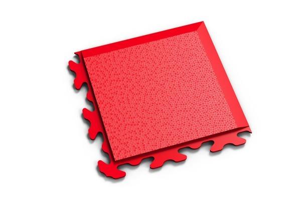 Fortelock Ecke 2037 Skin - genarbt - rosso rot - B