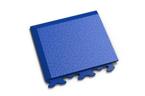 Fortelock Ecke 2036 Skin - genarbt - blau - A