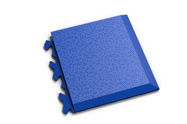 Fortelock Ecke 2039 Skin - genarbt - blau - D