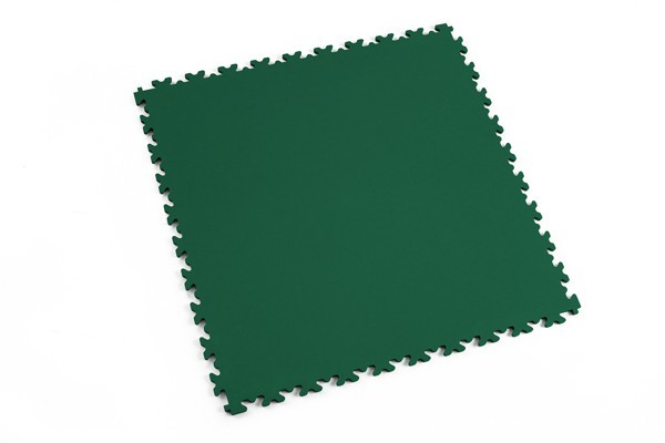 Fortelock 2060 grün - Leder - Glatt - medium duty - 7 mm