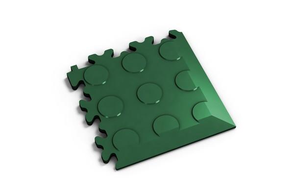 Fortelock Ecke 2046 Noppen - Coin - grün