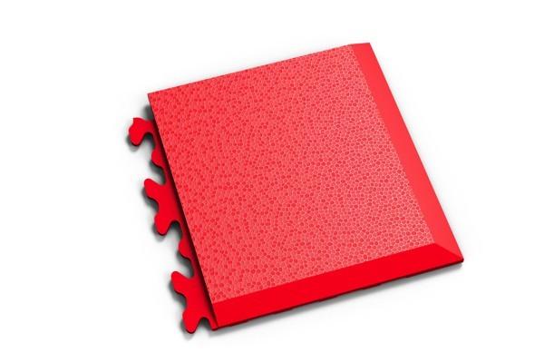 Fortelock Ecke 2039 Skin - genarbt - rosso rot - D
