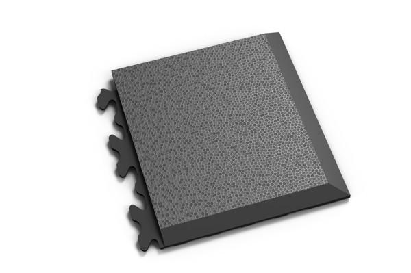 Fortelock Ecke 2039 Skin - genarbt - graphite - D
