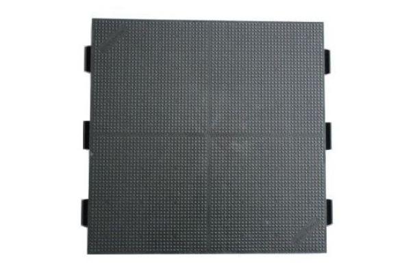 evo-floor 500 Bodenplatte, Oberfläche geschlossen, Farbe schwarz