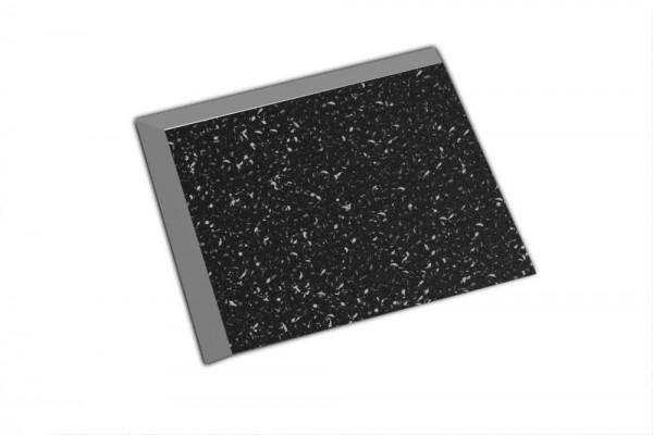 Fortelock Ecke 2038 Print C schwarz - Glatt genarbt