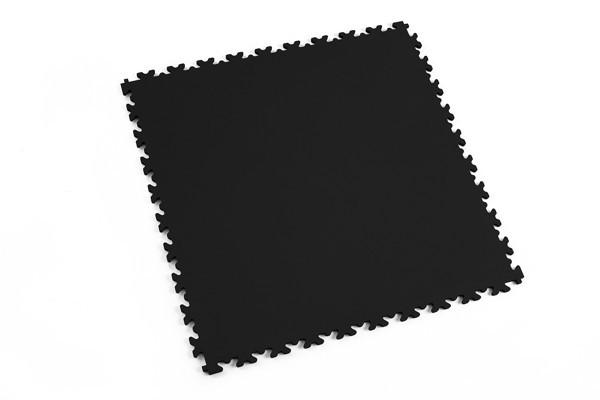Fortelock 2060 schwarz - Skin - Leder - Glatt - medium duty - 7 mm